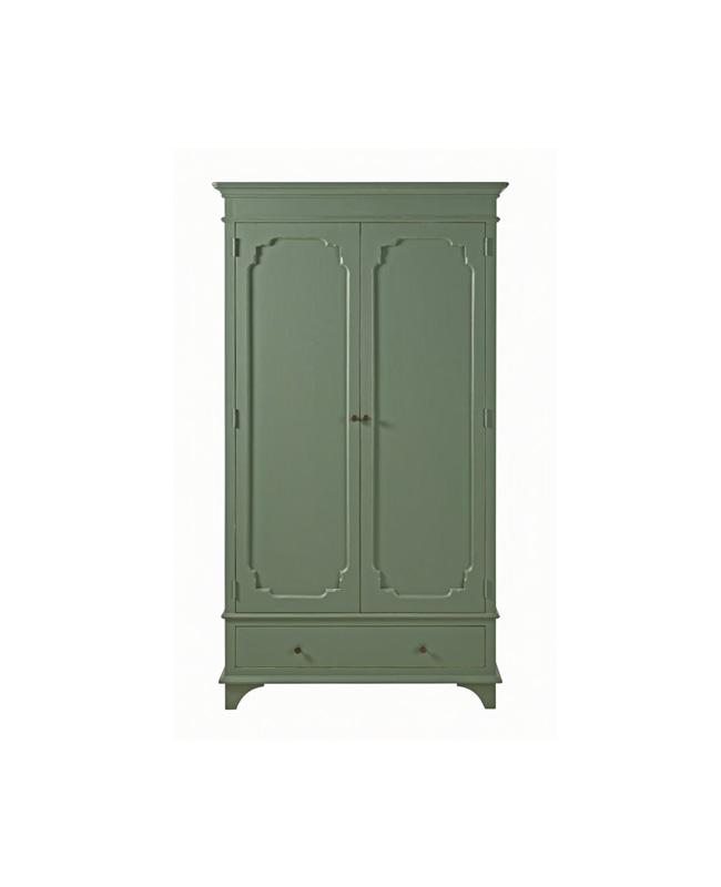 armoire vert kaki