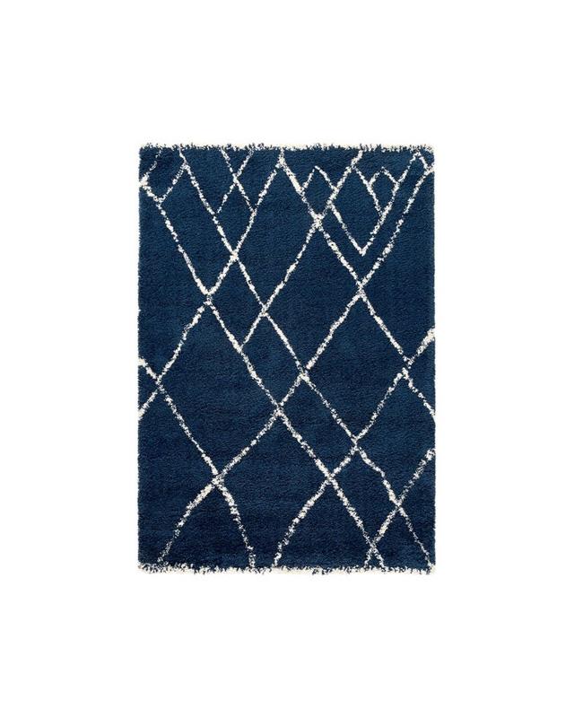 tapis berbere bleu