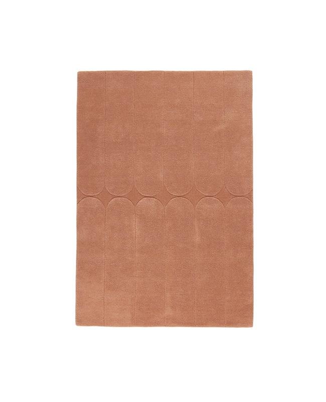 tapis terracotta