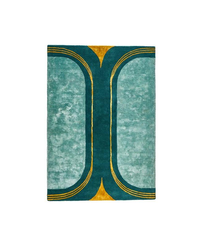 tapis vert dore