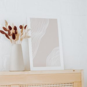 affiche ligne minimaliste a imprimer printable