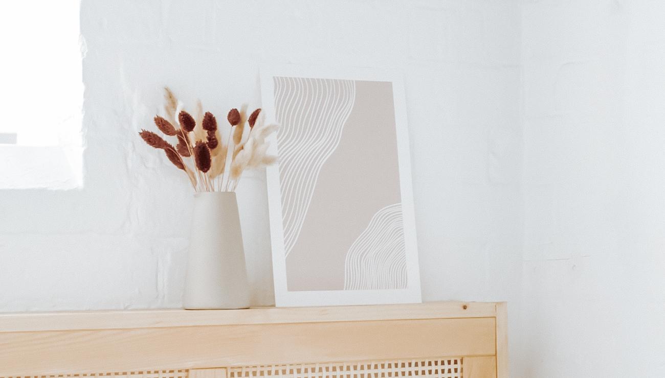 affiche abstraite ligne minimaliste a imprimer gratuit printable
