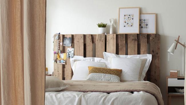 deco chambre bois blanc