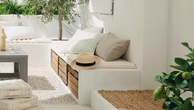 deco blanc terrasse