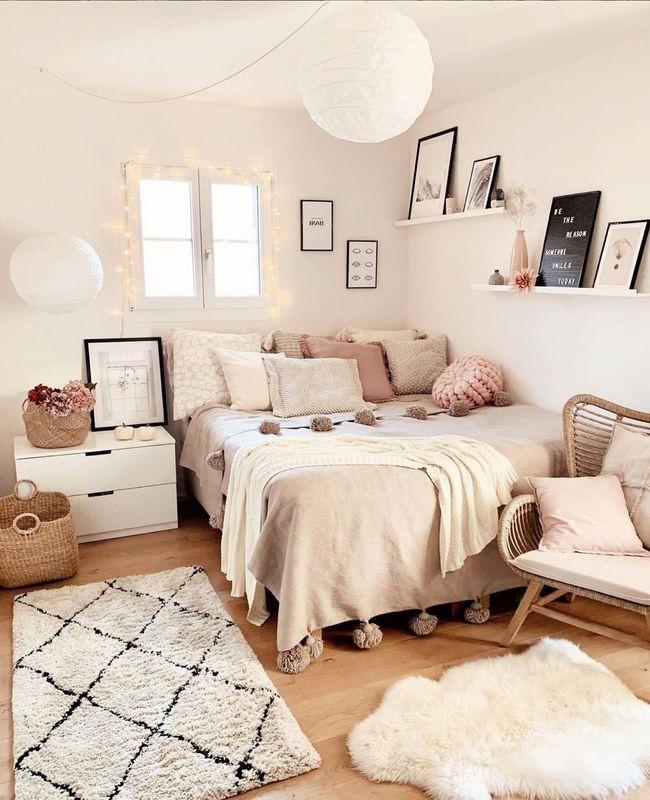 coussins deco chambre cosy