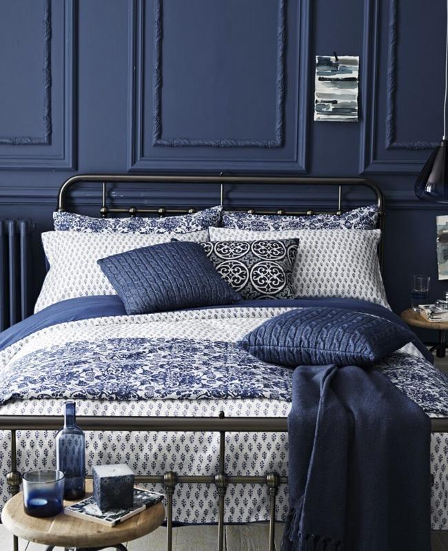 deco chambre chic bleu