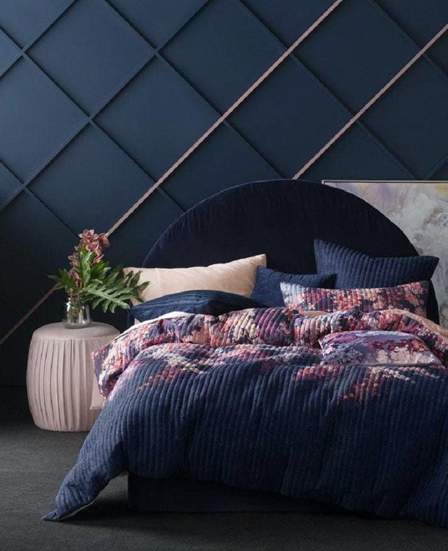 deco chambre bleu moderne