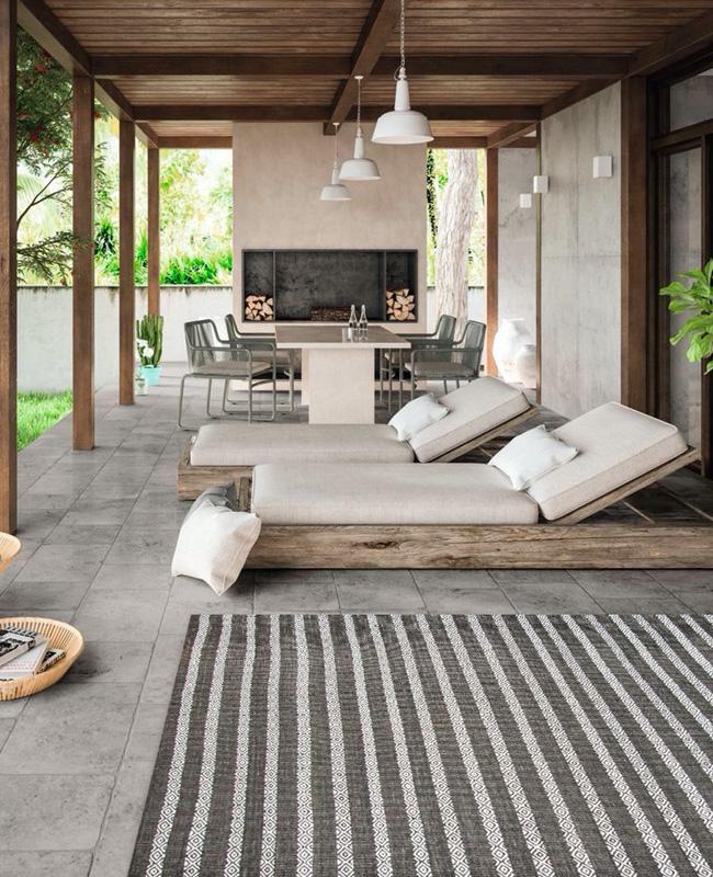 deco terrasse sol pierre gris