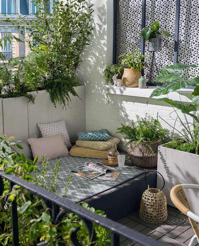 deco terrasse nature plante