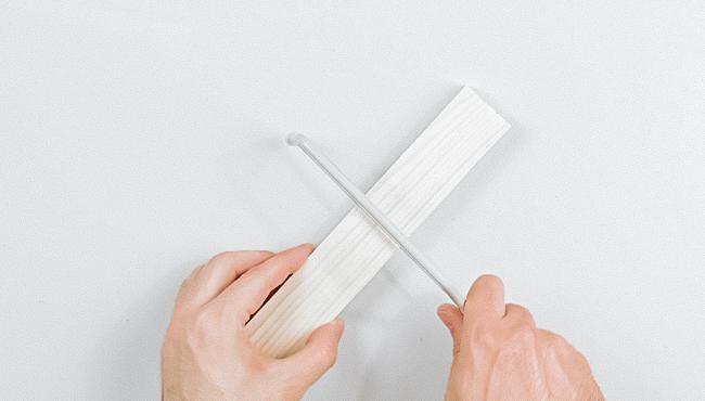 tuto deco bougeoir moderne minimaliste diy étape 1