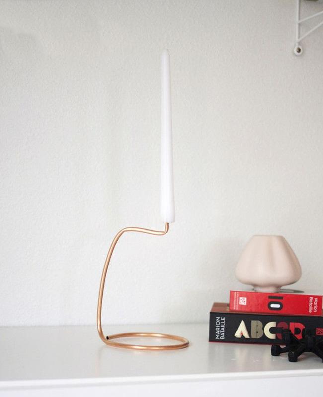 tuto deco bougeoir moderne minimaliste diy selection