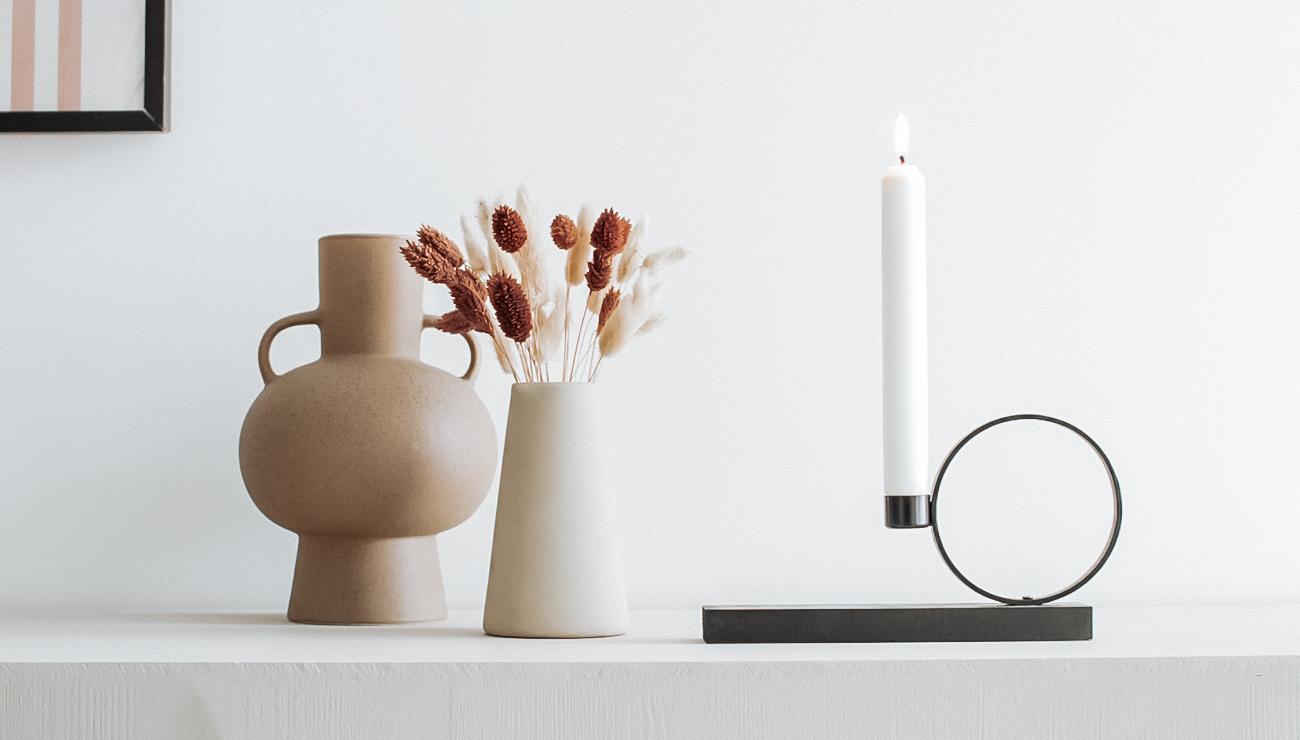 tuto deco bougeoir moderne minimaliste diy
