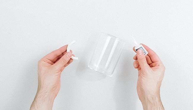 tuto deco vase texture terre cuite bicarbonate diy étape 2