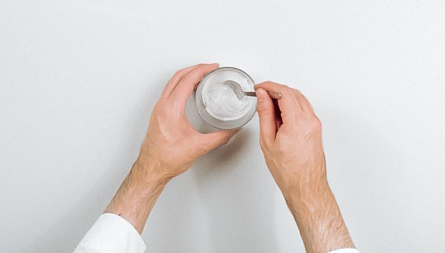 tuto deco vase texture terre cuite bicarbonate diy étape 5