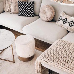 deco salon moderne cosy