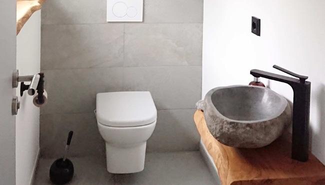 deco toilettes gris bois