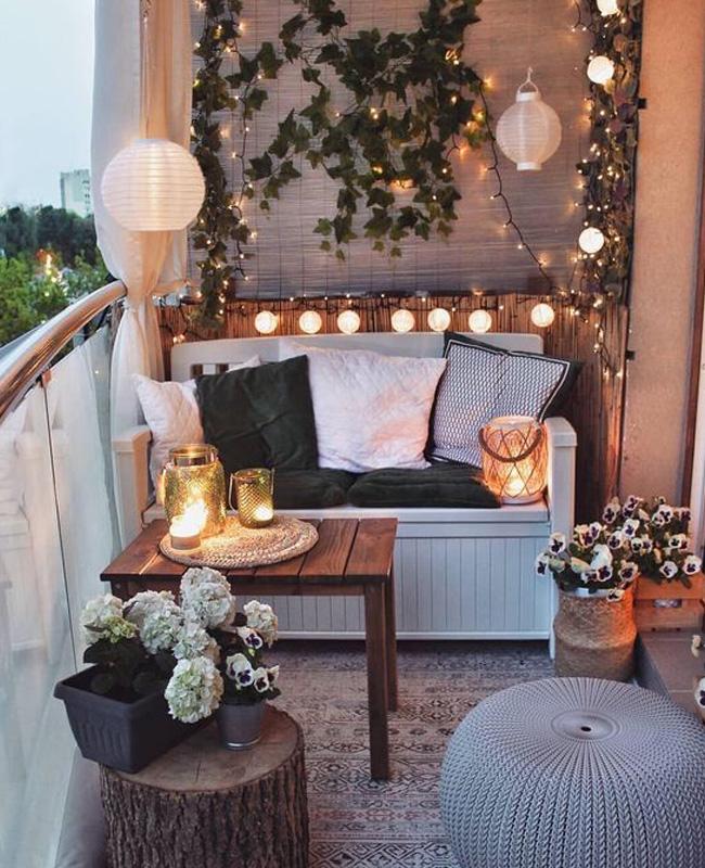 tapis deco balcon cocooning