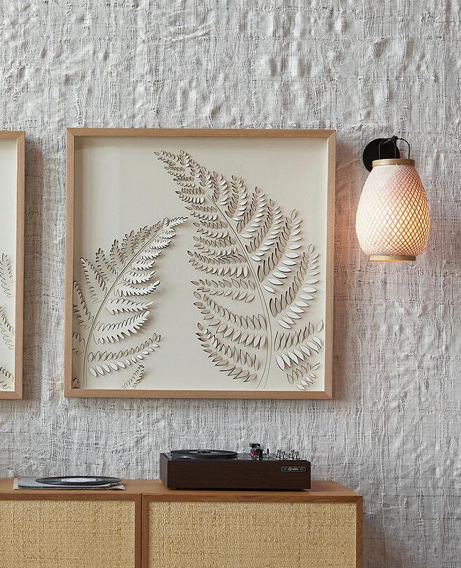 applique murale moderne bambou