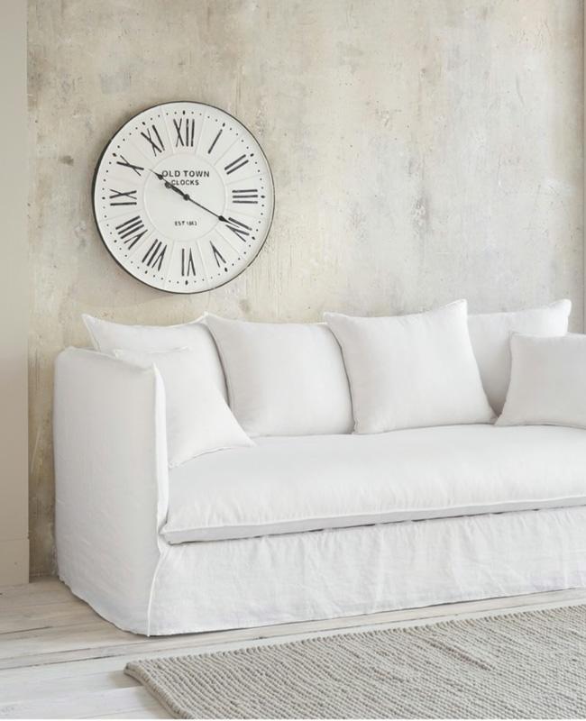 canape blanc