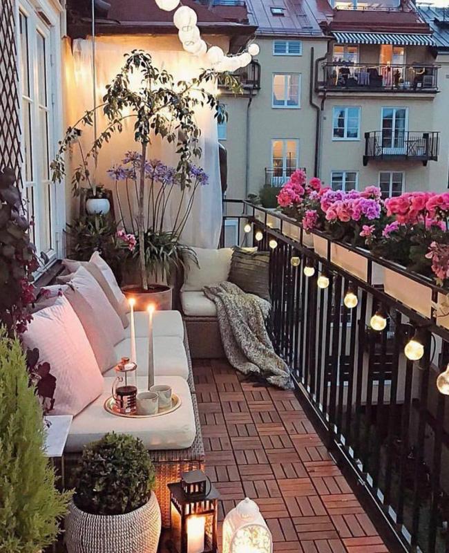guirlande deco balcon cocooning