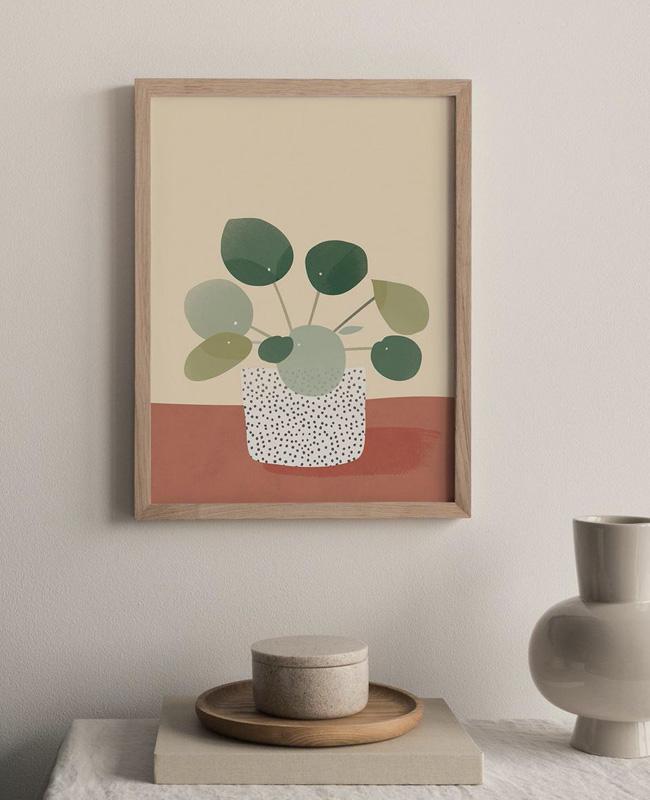 affiche carte vegetale a imprimer piles