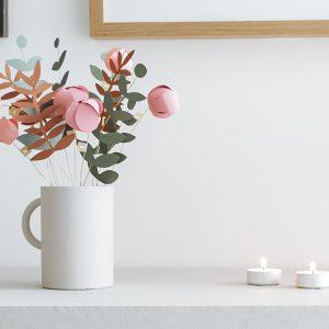 calendrier avent fleurs a imprimer printable