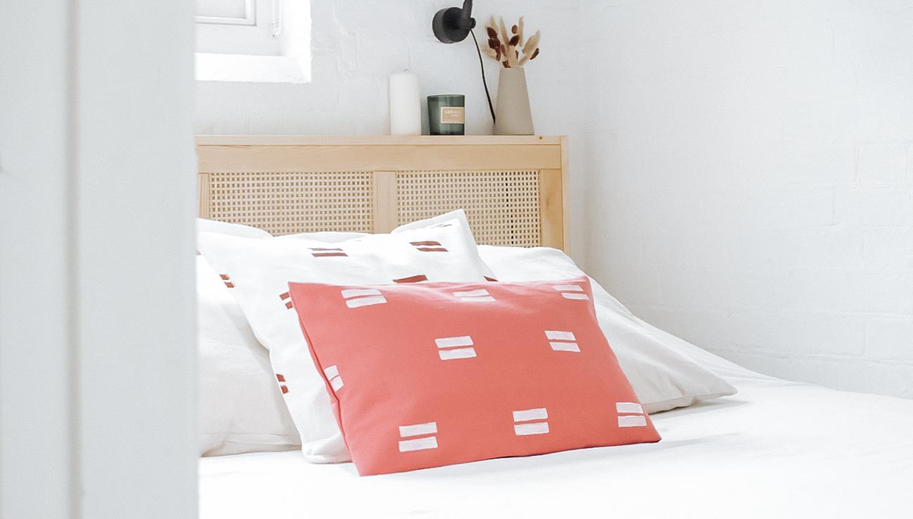 Ikea Hack coussin motif moderne Gurli vallentuna