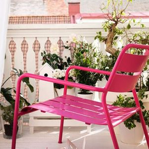 deco balcon rose