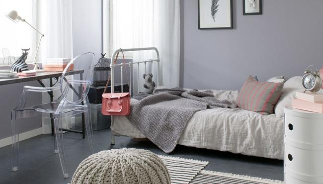 deco chambre ado gris
