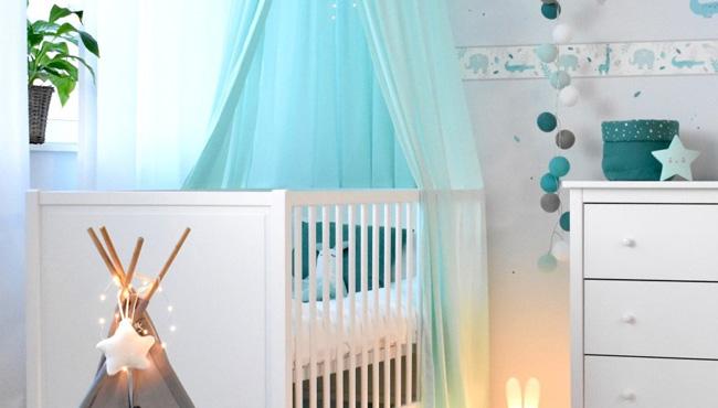 deco chambre bebe bleu gris