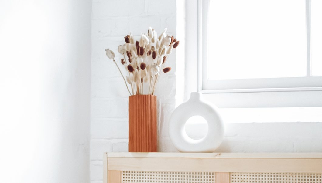 vase carton strie gaufre terracotta tuto diy