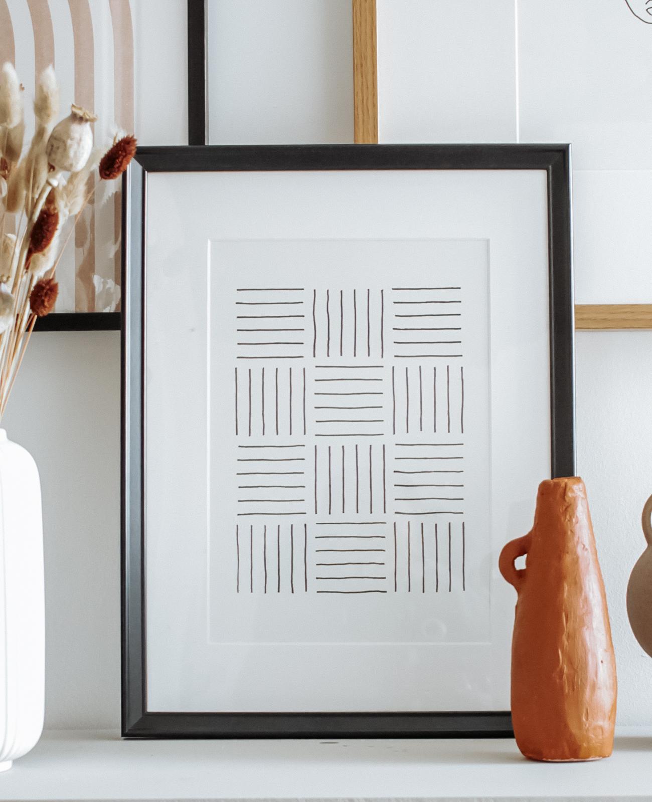 affiche graphique a imprimer a personnaliser