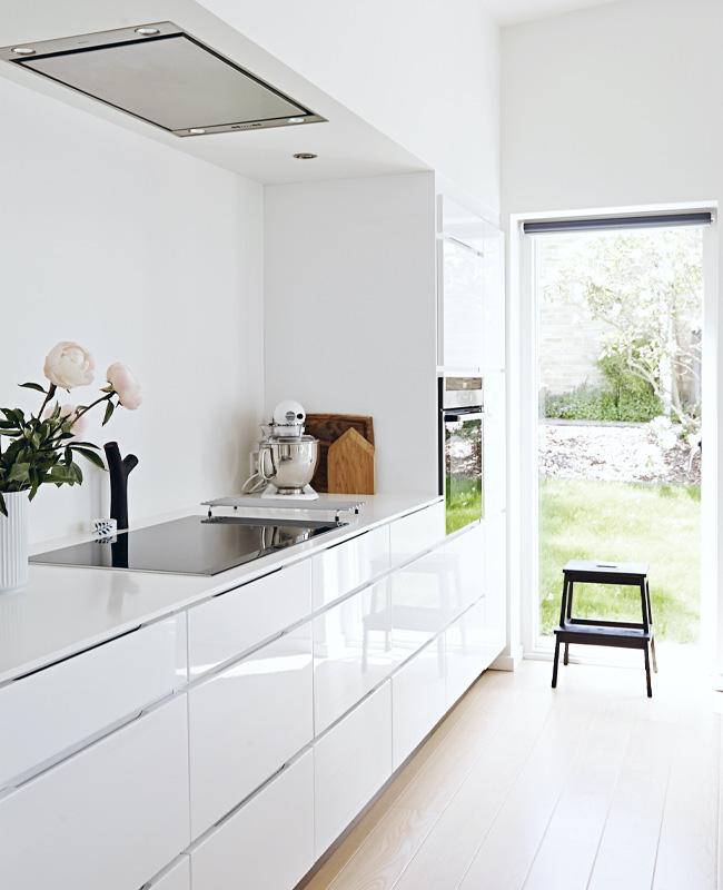 deco cuisine scandinave total look blanc