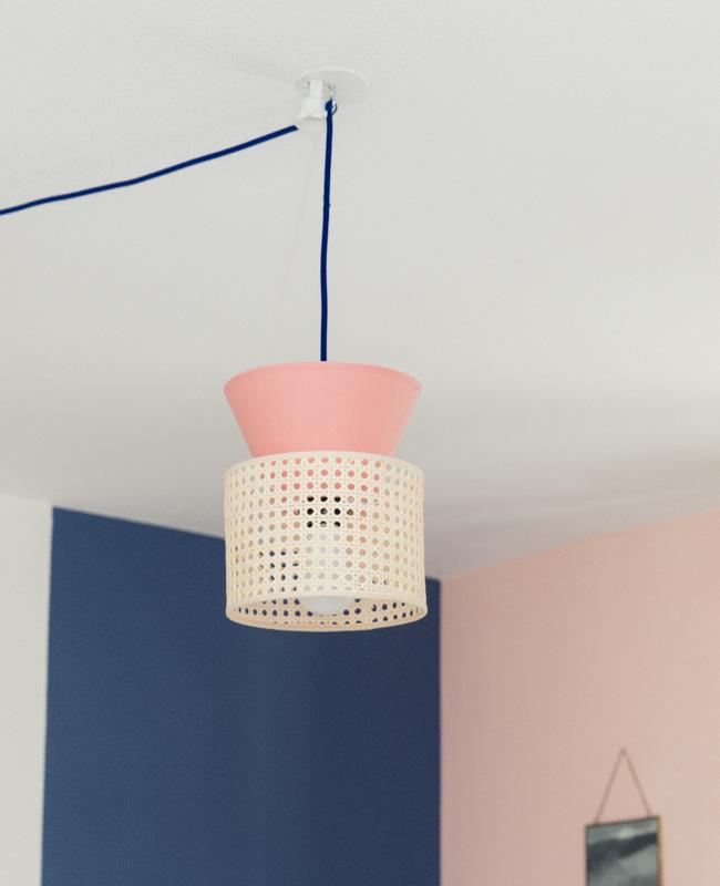 applique lampe cannage diy tuto modulable