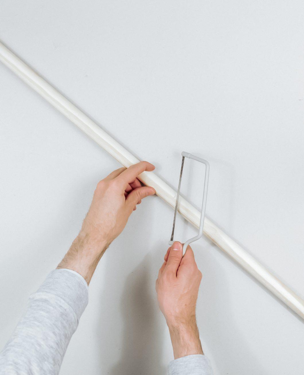 tapis deco murale boheme broderie Ikea Hack tuto dia etape 5