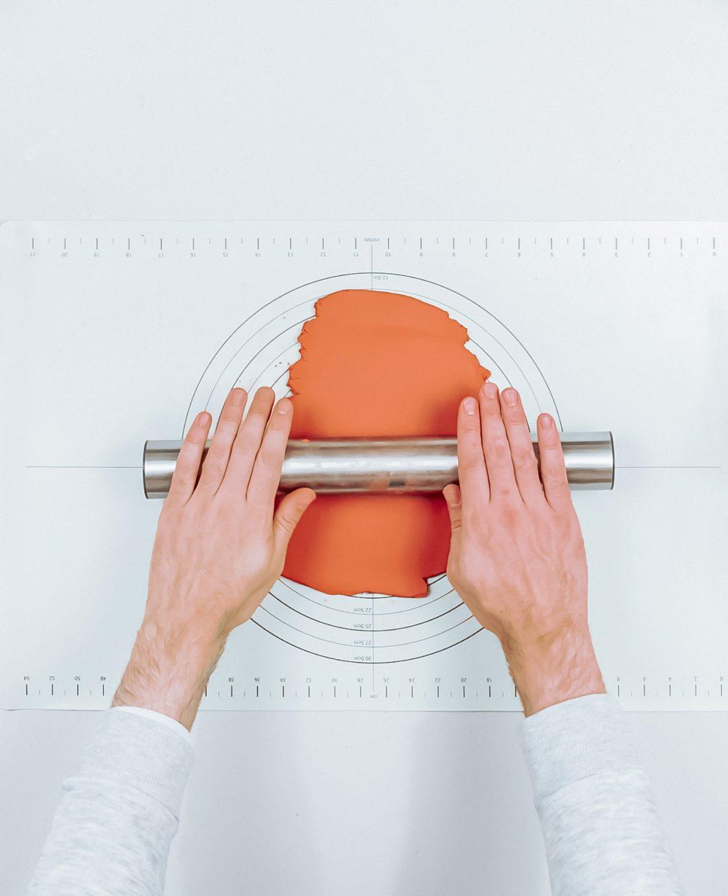 assiette terrazzo terracotta tuto diy etape 3