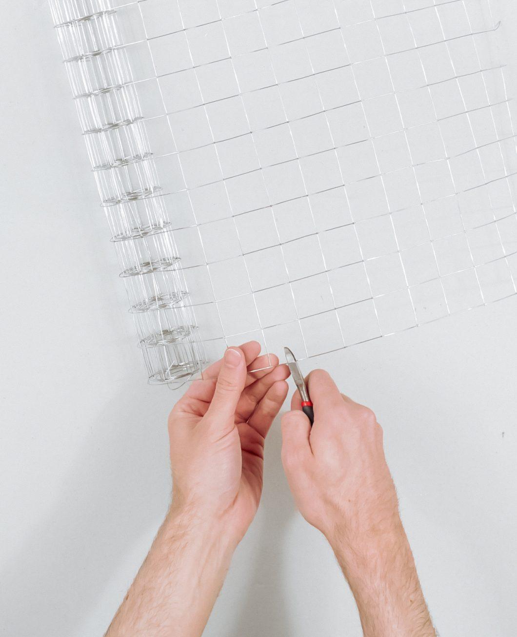 lampe bande de plâtre ikea hack tuto etape 1