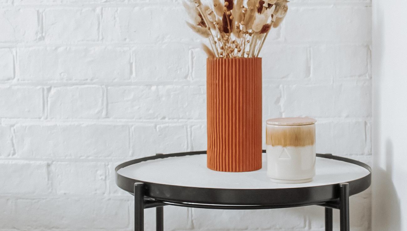 Ikea Hack table baton gladom