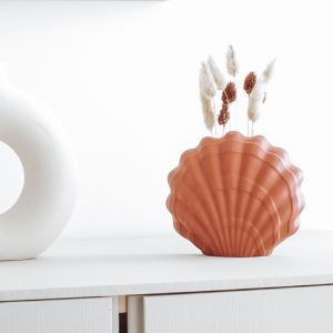 vase coquillage beton tuto diy