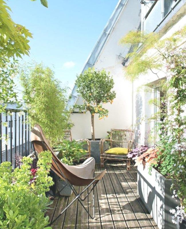 deco balcon nature vegetal