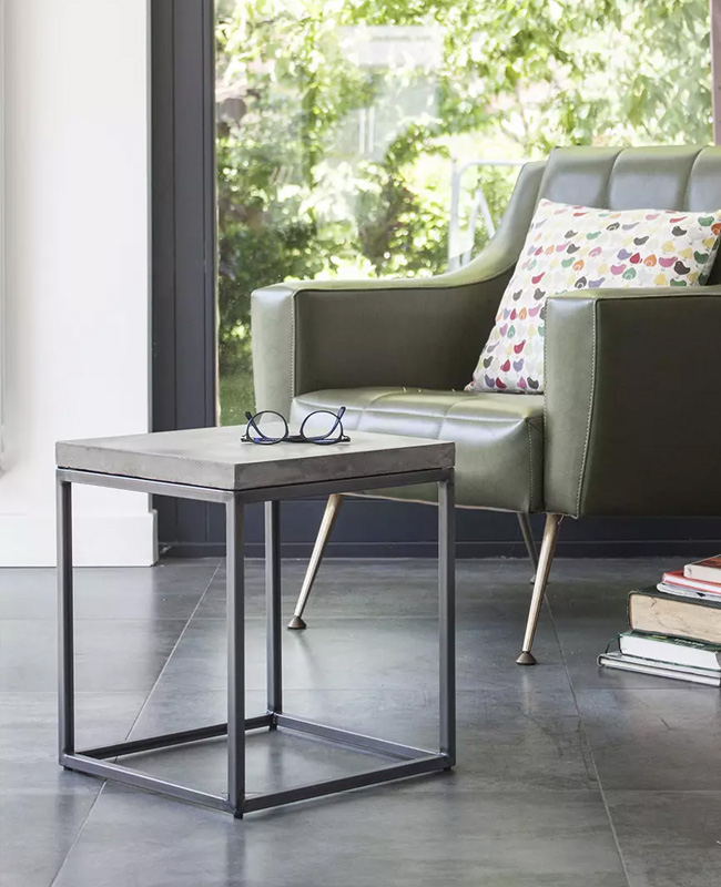 table appoint beton