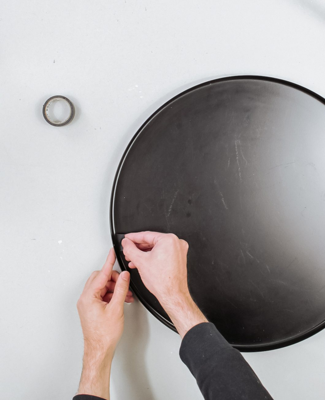 Ikea Hack table gladom beton étape 2