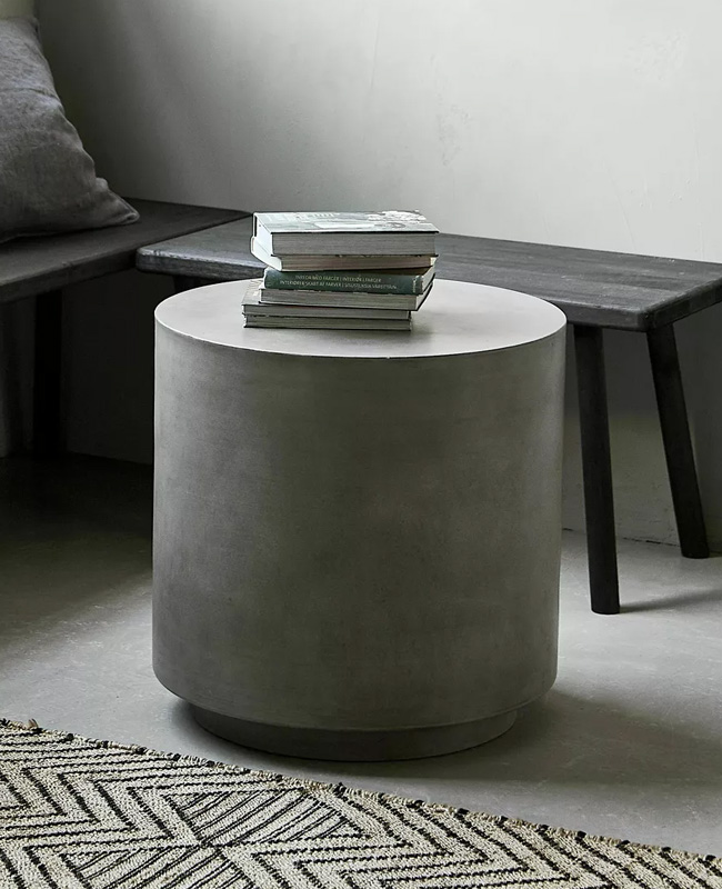 table appoint beton ronde