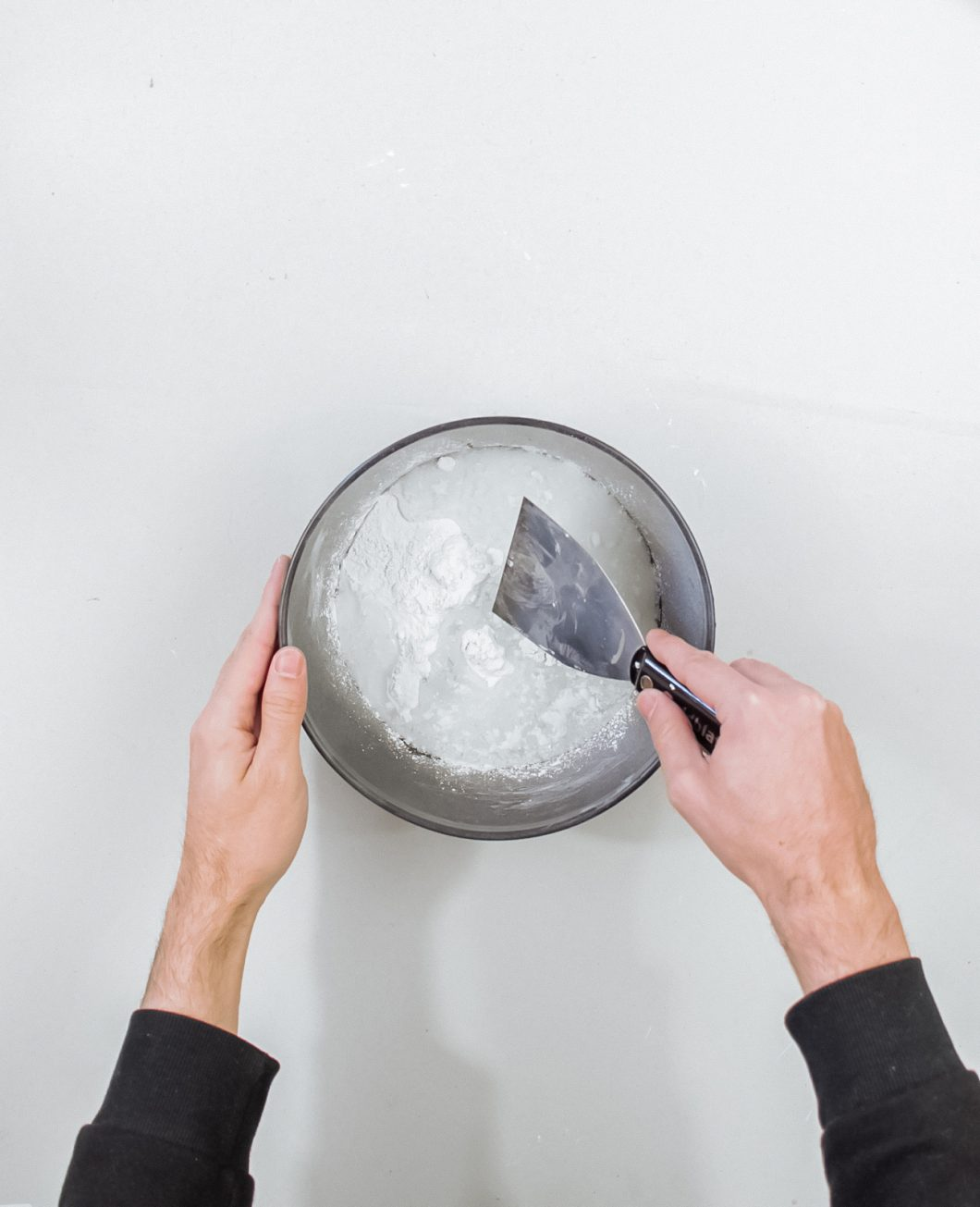 vase coquillage beton tuto diy etape 2