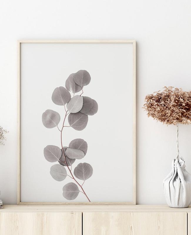 affiche branche eucalyptus a imprimer
