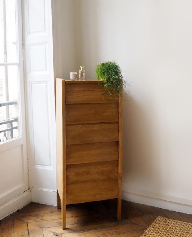 commode vintage chiffonnier