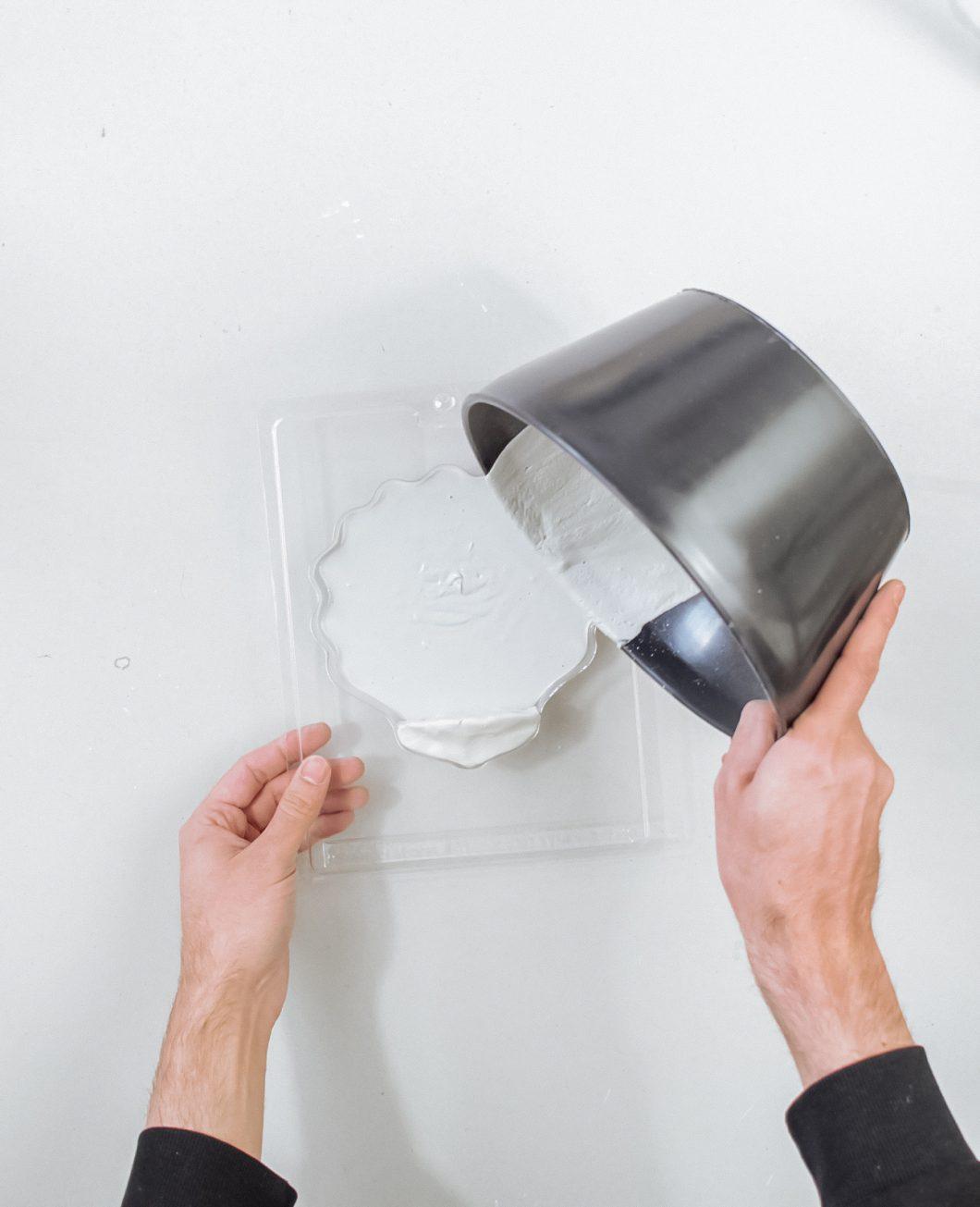 vase coquillage beton tuto diy etape 3