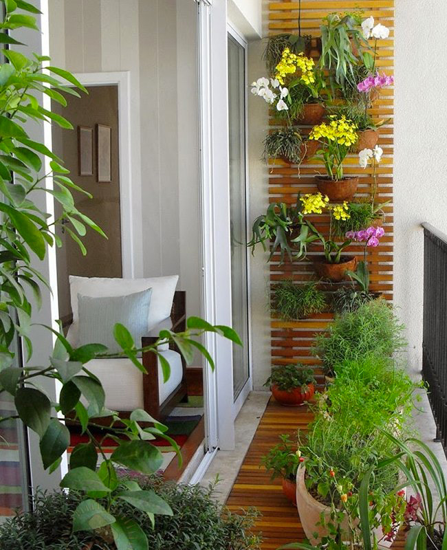 deco balcon nature vertical