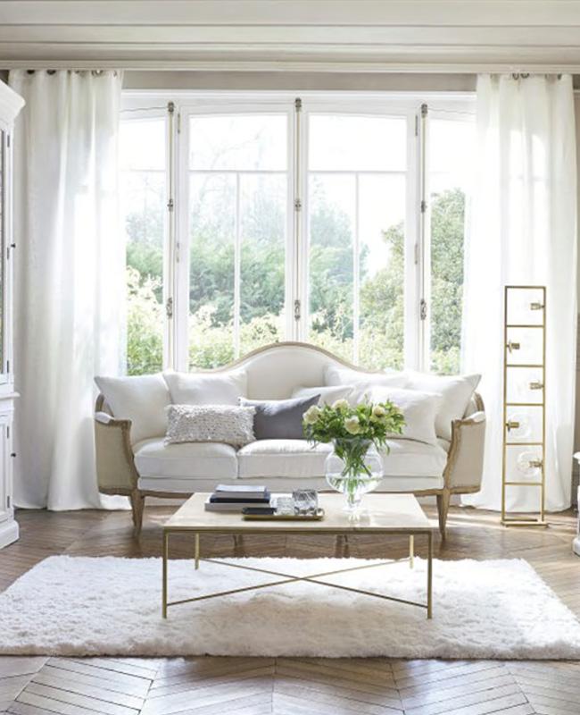 table basse marbre blanc carrée