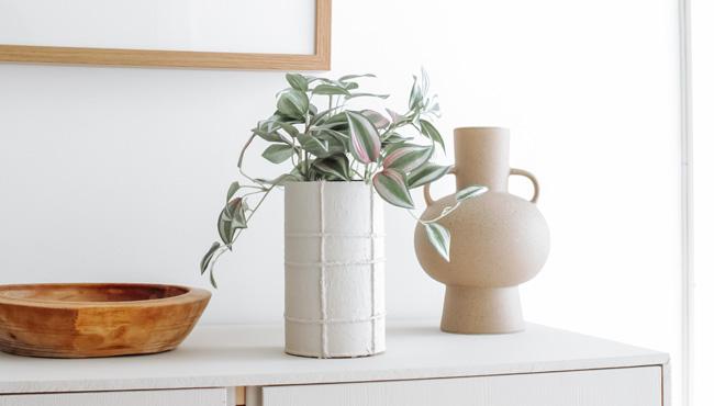 vase relief corde tuto diy